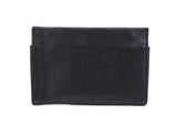 Joey Black woman leather wallet