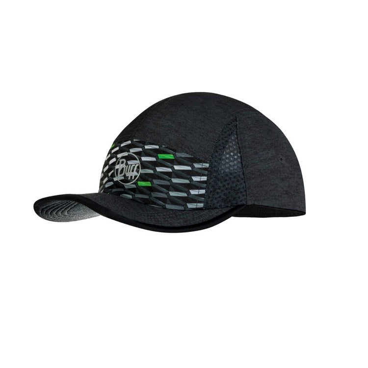 Buff Gorra Run R-Geotrik Black
