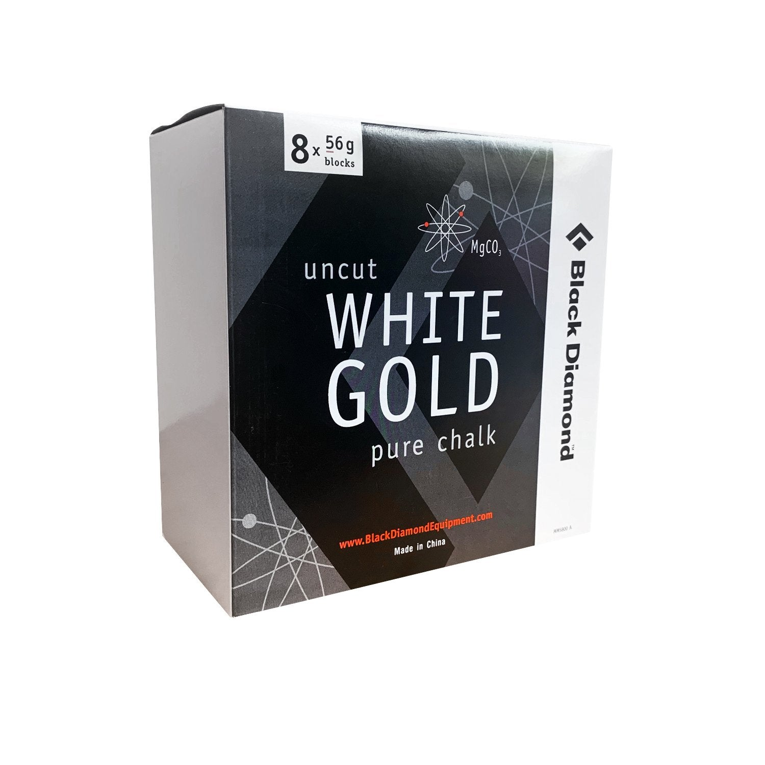 Black Diamond White Gold Pure Chalk x 8 Blocks