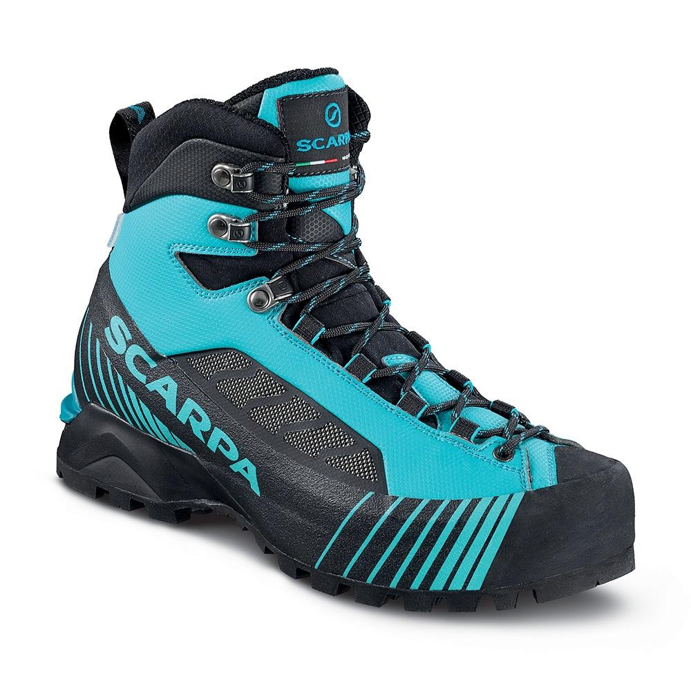 Scarpa Ribelle Lite OD Womens mountaineering boot in black/blue colours