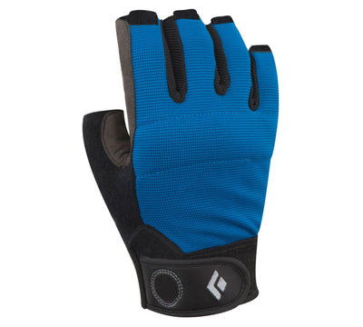 Black Diamond Crag Half-Finger Glove, in blue