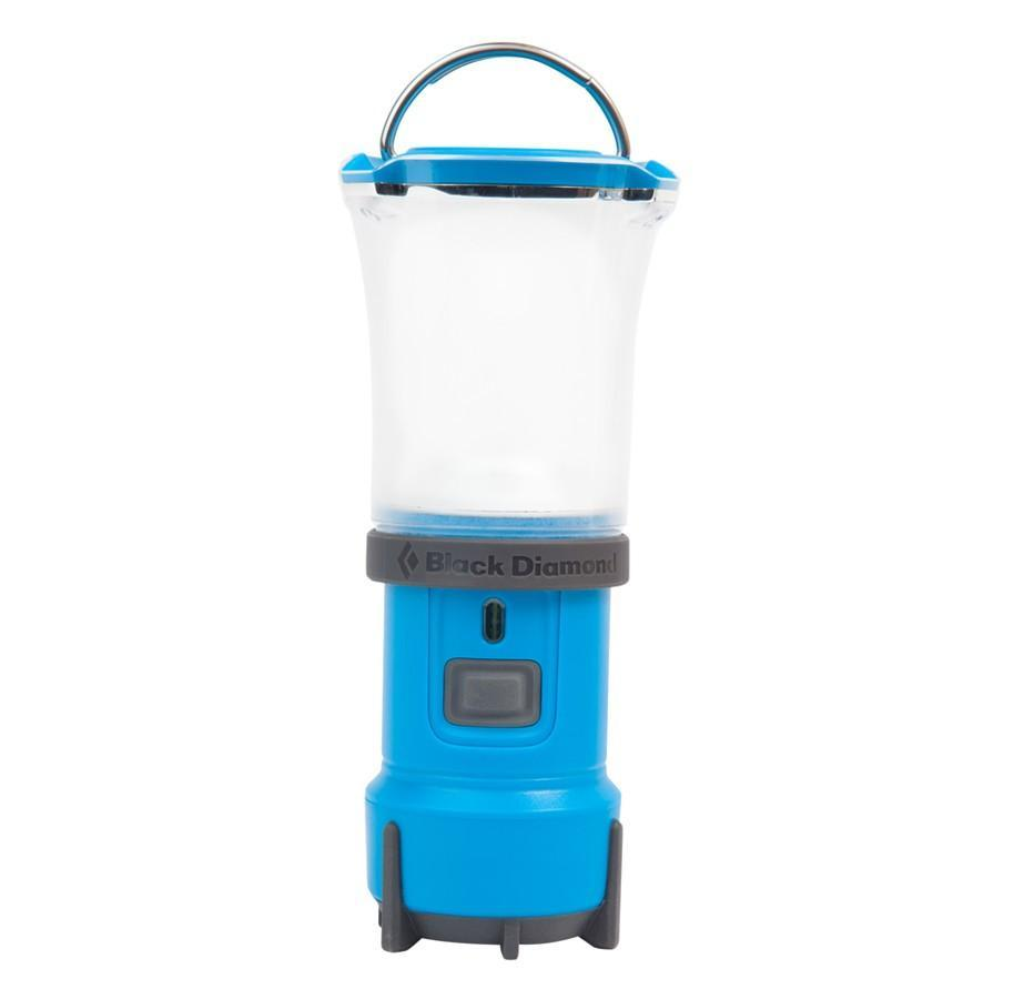 Black Diamond Voyager camping Lantern, in blue/white colours