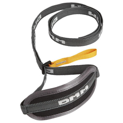 DMM Cirque Ice Axe leash, shown in black colour