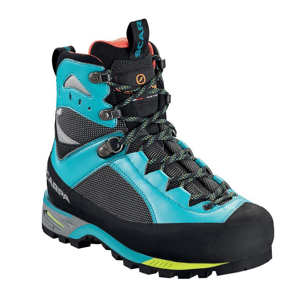 Scarpa Charmoz OD Womens Mountaineering Boot black and blue