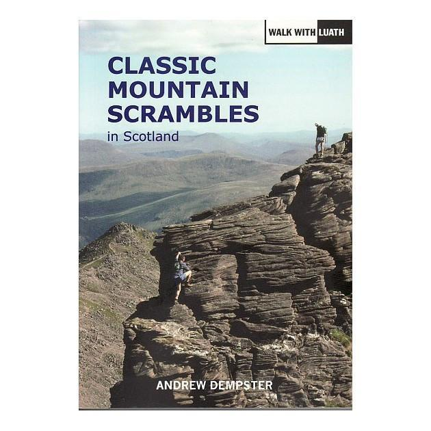 Classic Mountain Scrambles in Scotland guidebook, front cover
