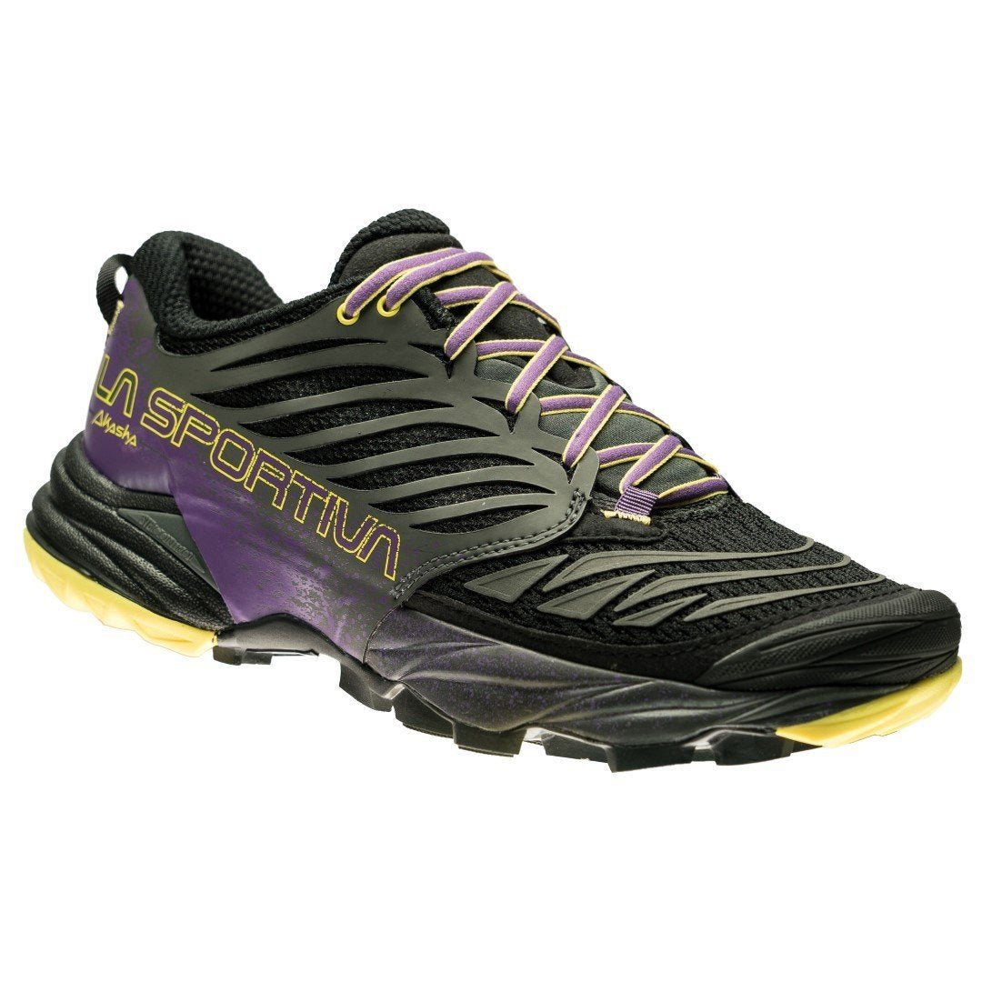 La Sportiva Akasha Womens in Black/Purple