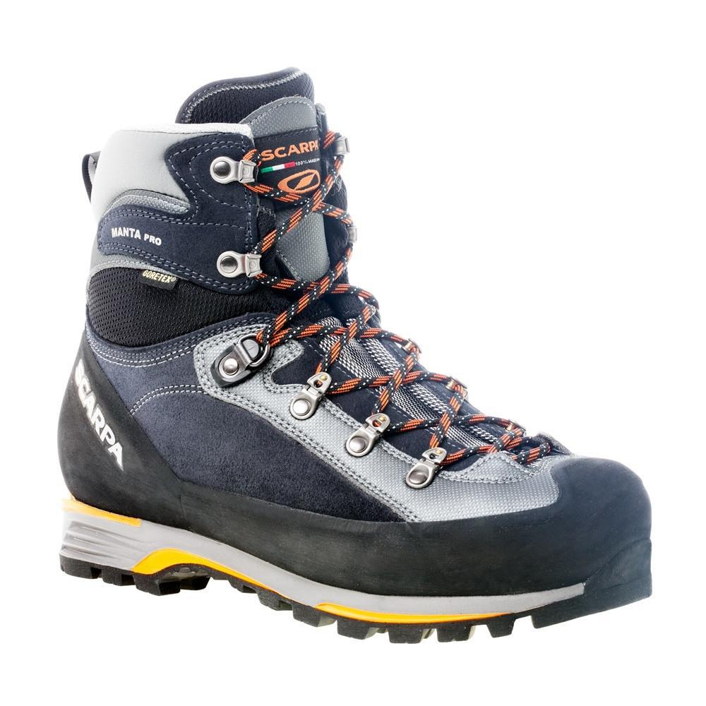 Scarpa Manta Pro GTX Mountaineering Boot, in black and grey colours