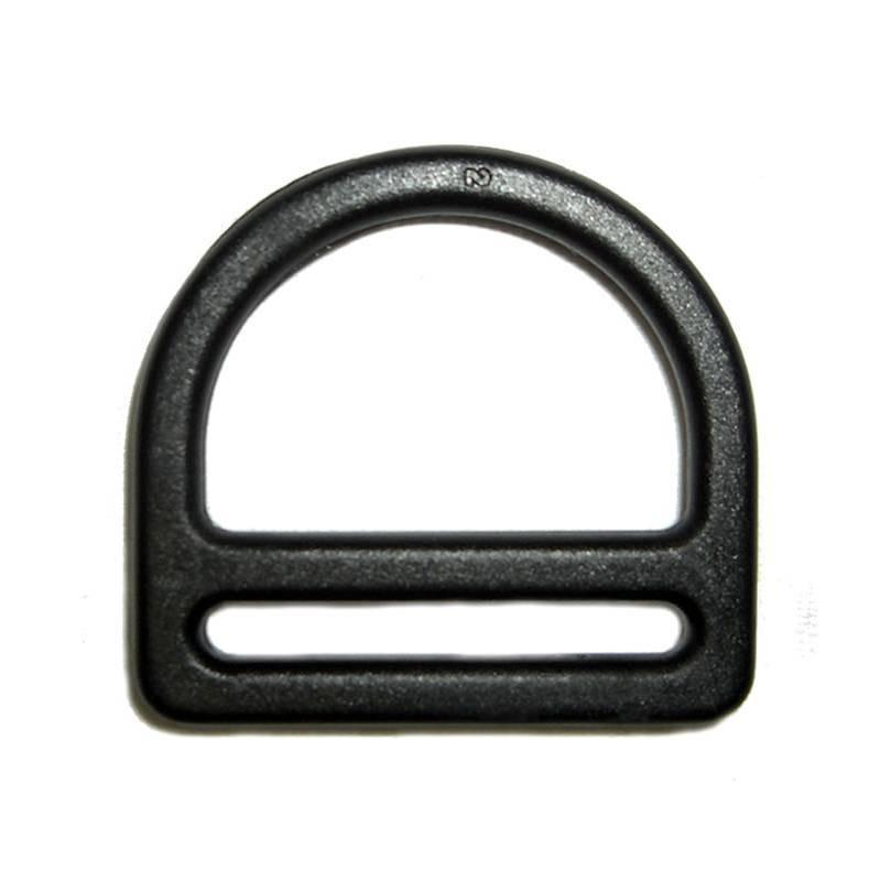 Double Bar D Ring 25mm