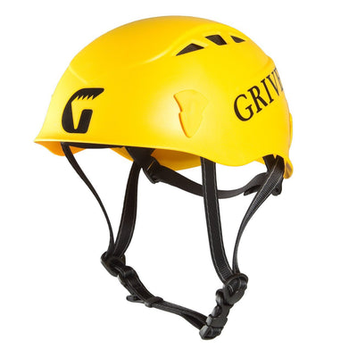 Grivel Salamander climbing helmet, in Yellow colours