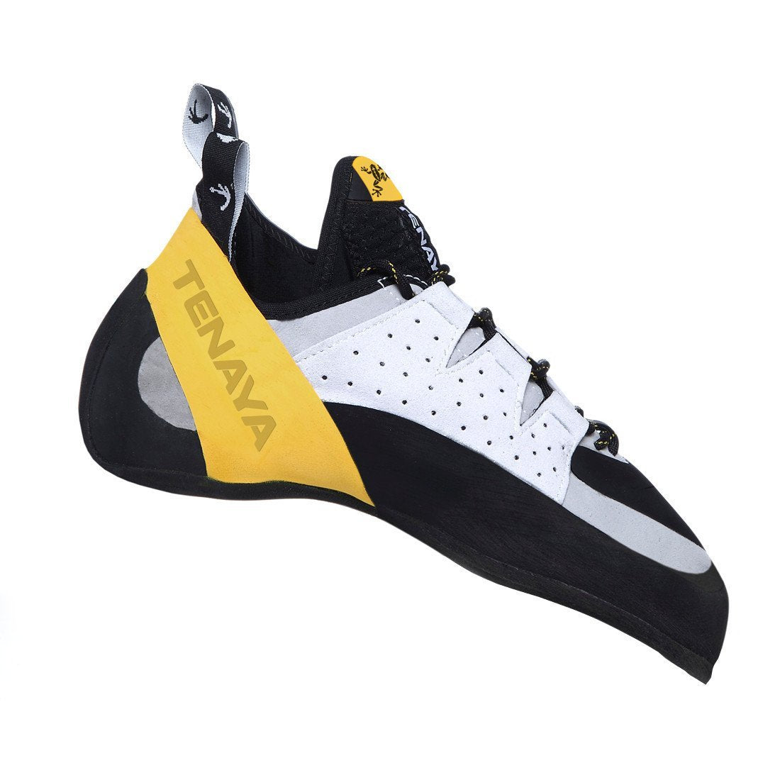 Tenaya Tarifa climbing shoe black, yellow and white