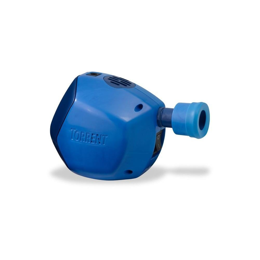 Thermarest NeoAir Torrent Pump, shown in blue colour