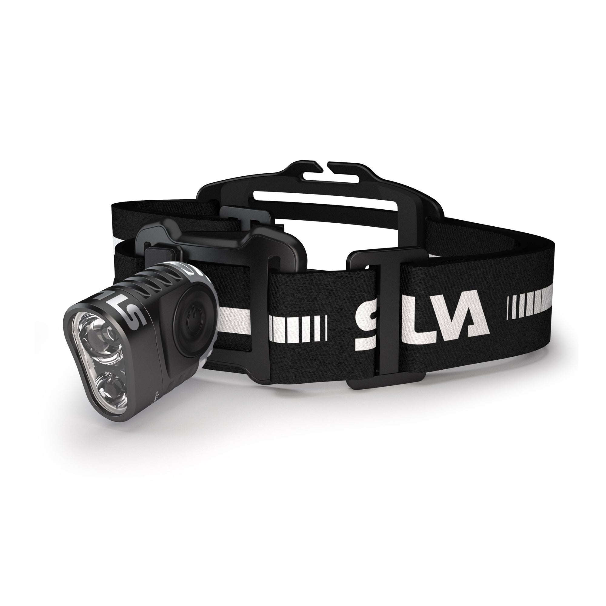 Silva Trail Speed 3XT headlamp, front view in black colour