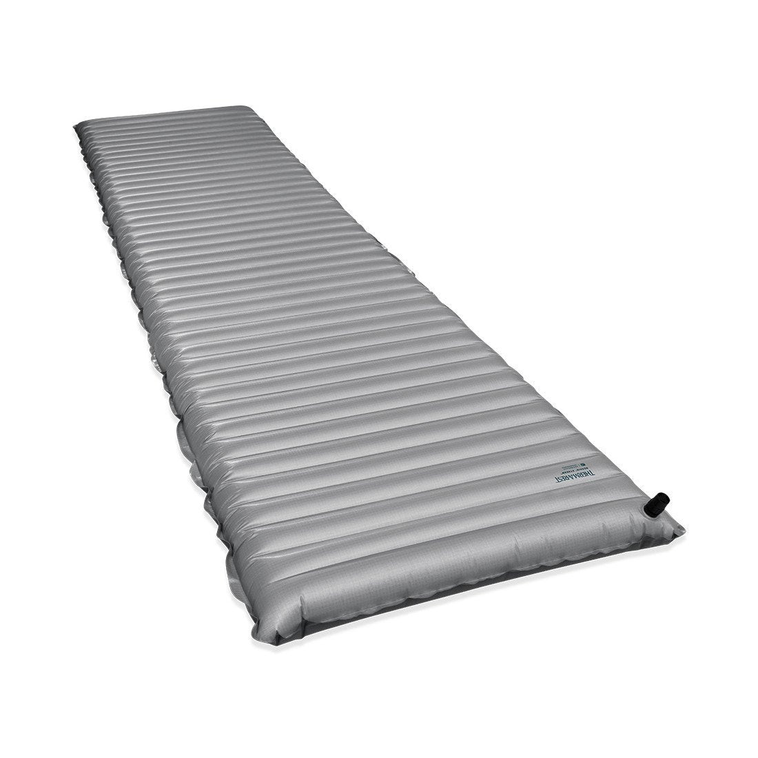 Thermarest NeoThermarest NeoAir Xtherm Max Regular camping mat, shown inflated and laid flat