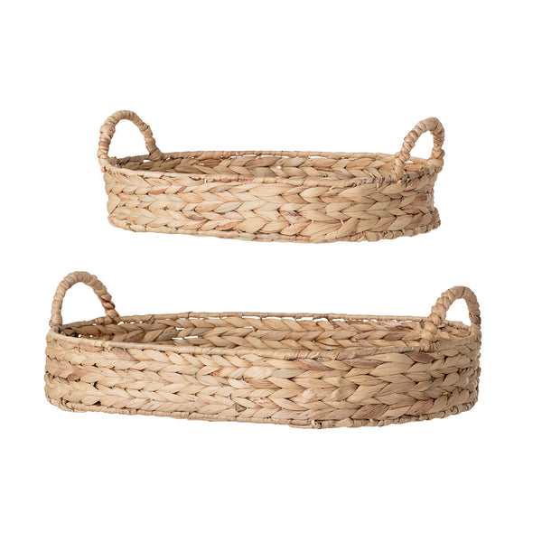 Water Hyacinth Bread Baskets - Set of 2