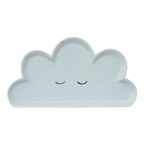 Smilla Cloud Plate, Blue