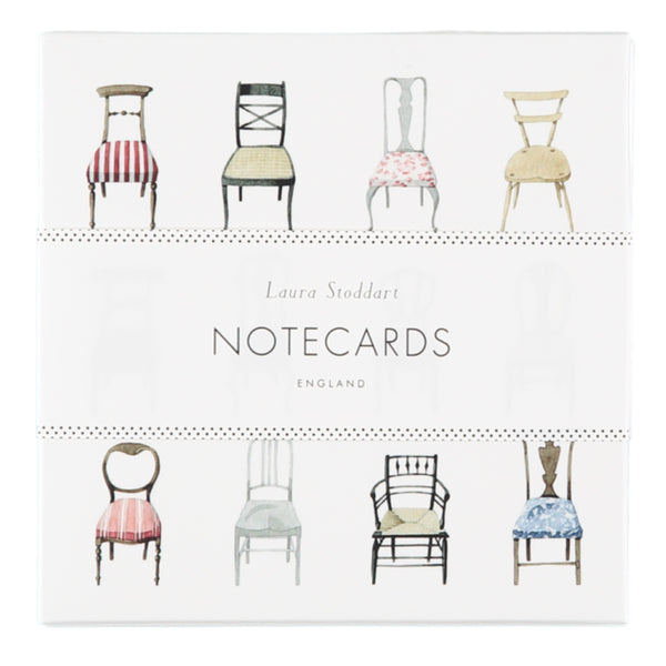 Laura Stoddart Musical Chairs Notecards, Pack of 8