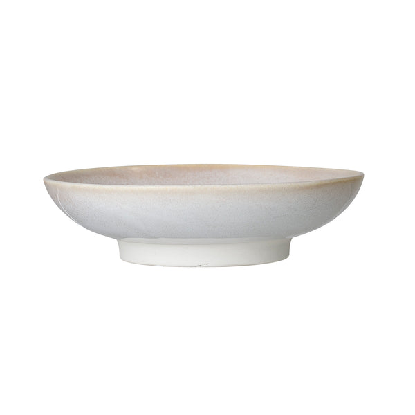 Carrie Low Serving Bowl, Natural