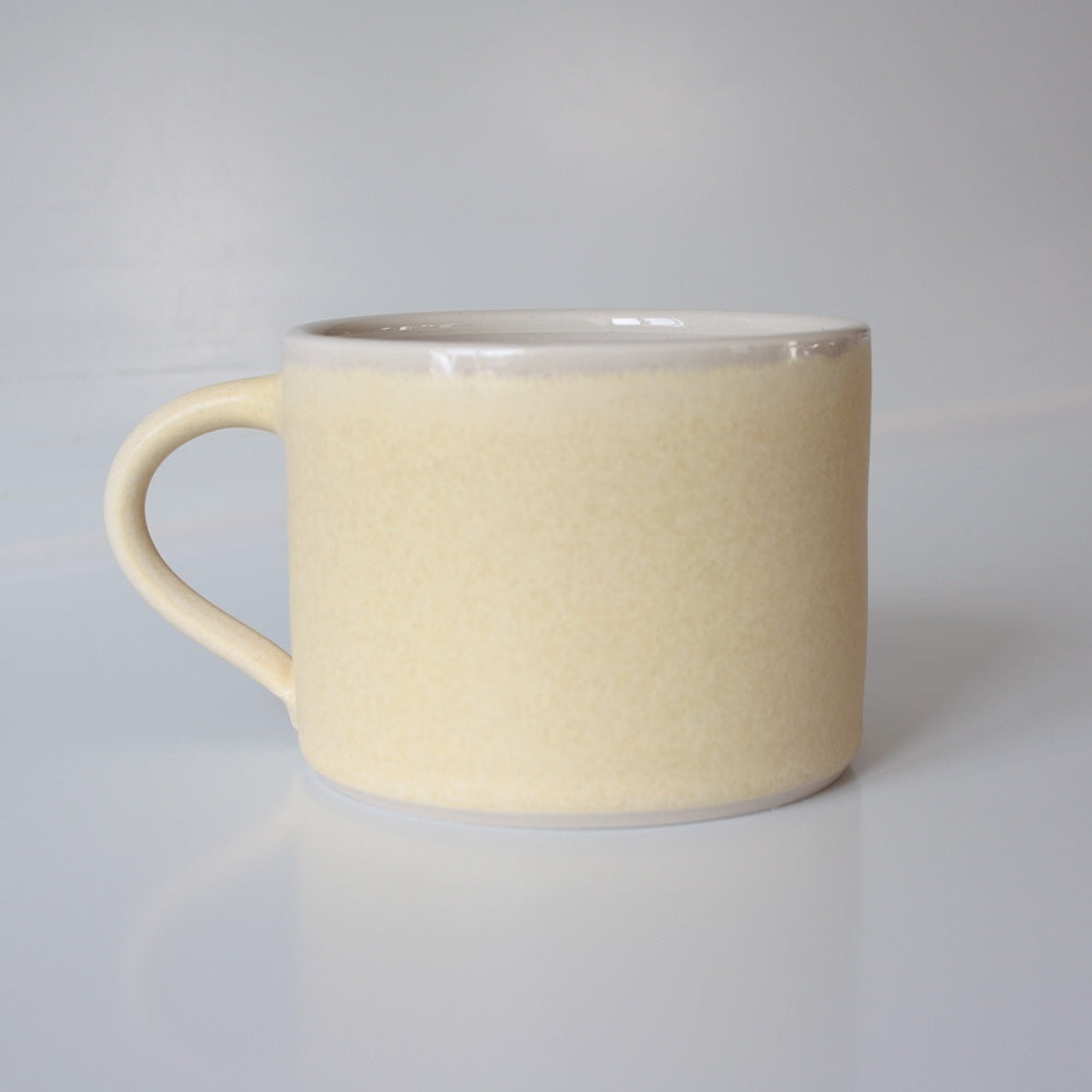 Hand Thrown Mug, Yellow
