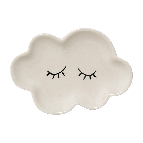 Smilla Cloud Plate, White - Small