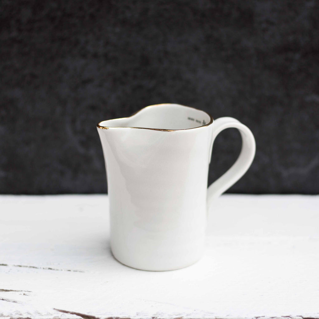 'Hand Made In England' Jug, Gold