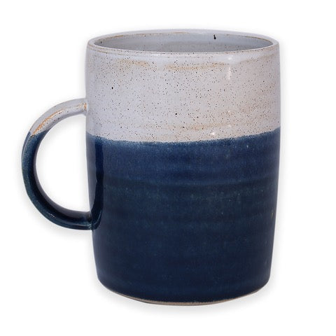 Hand Thrown Cosy Mug, Midnight