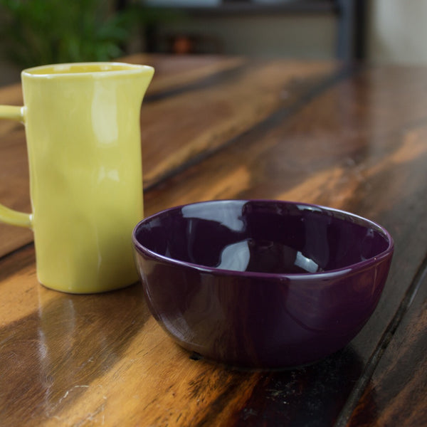 Dipping Bowl, Aubergine