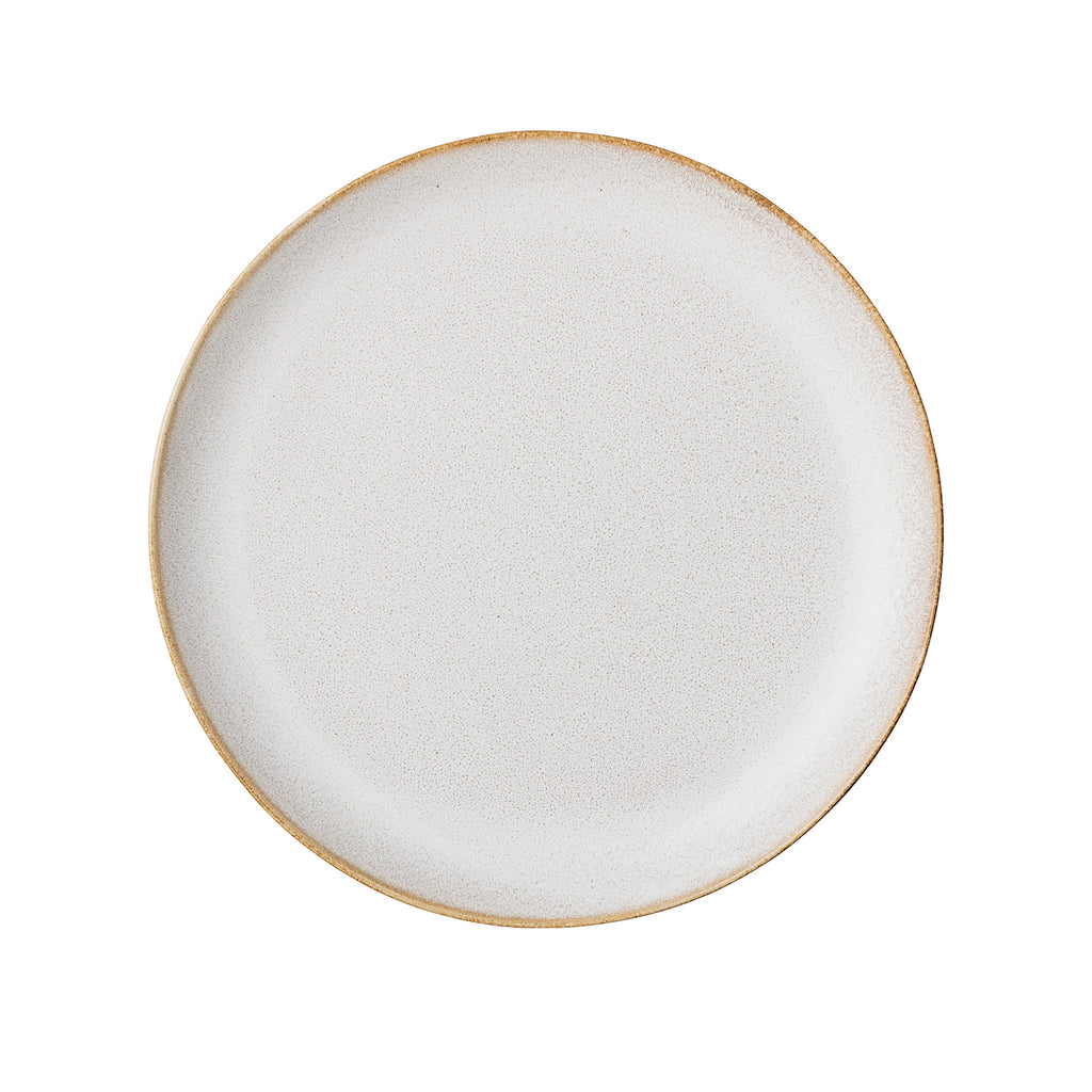 Handcrafted Scandinavian Side Plate, Natural