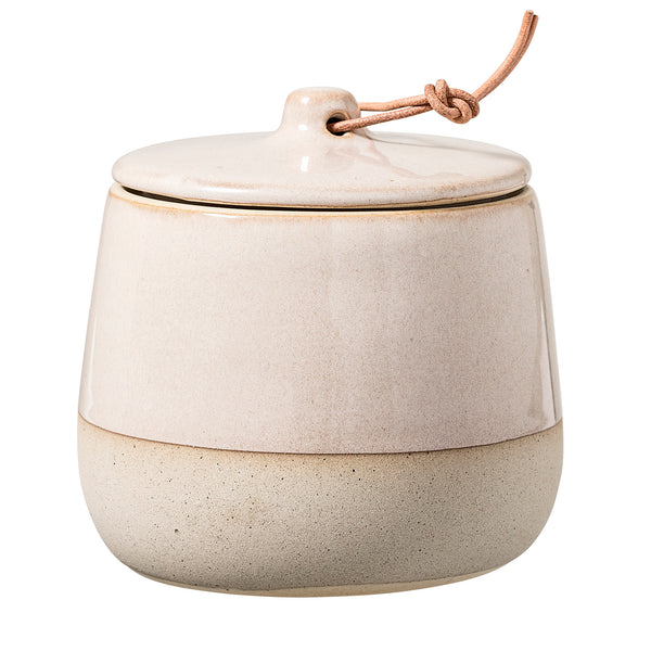 Stoneware Storage Jar, Small
