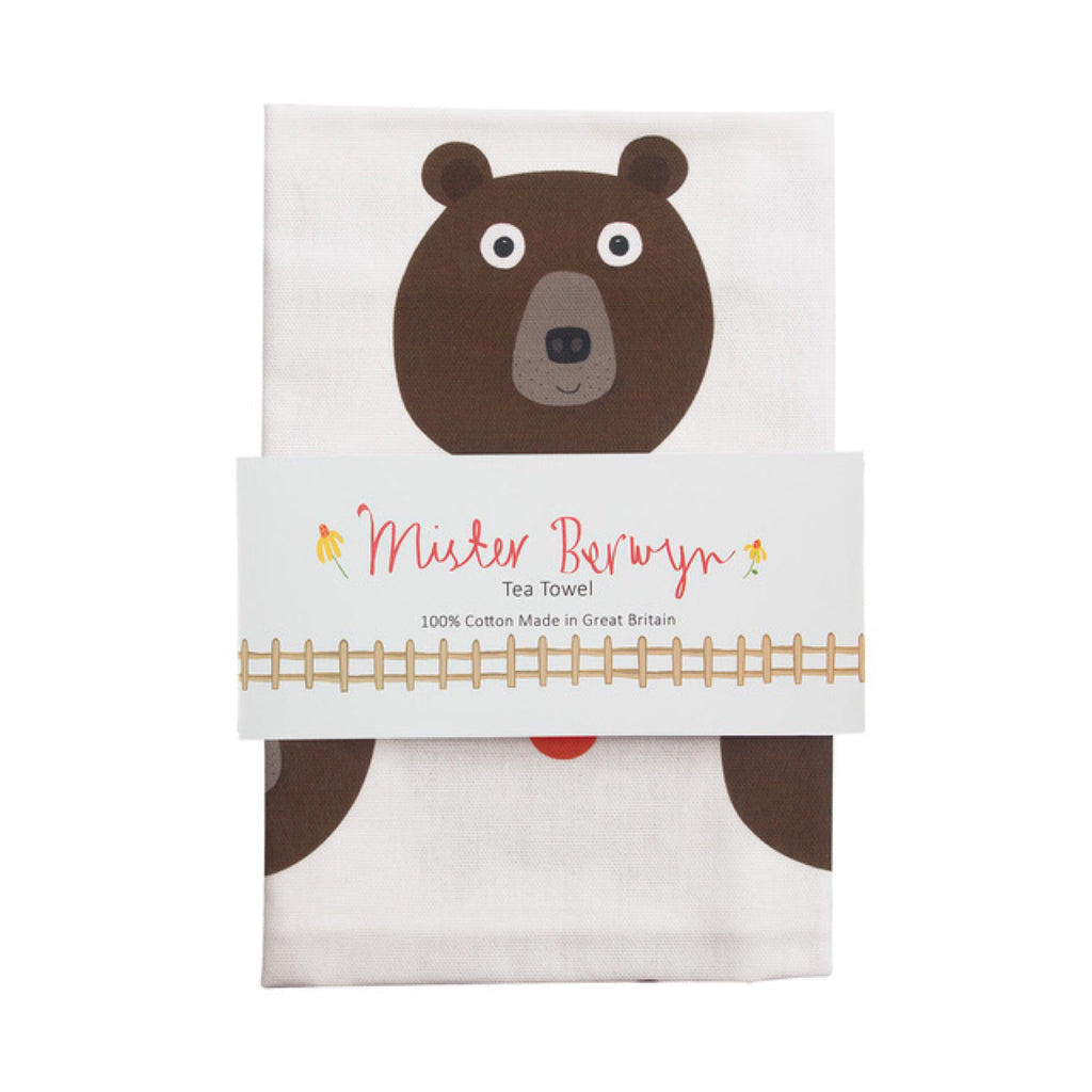 Mister Bear Tea Towel