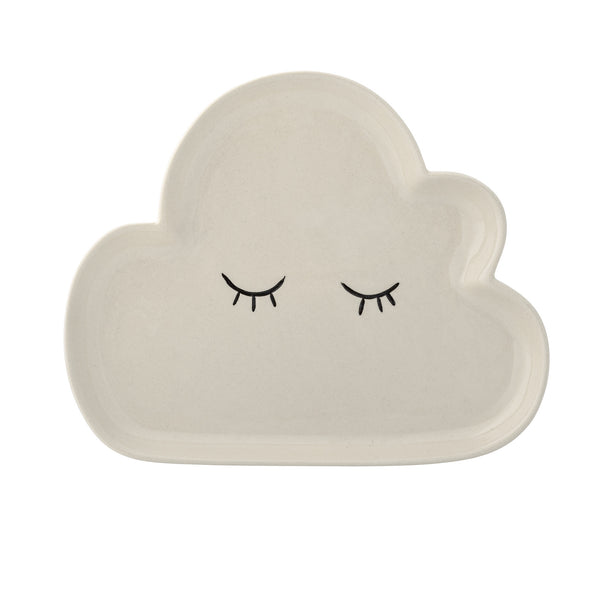 Smilla Cloud Plate, White - Large