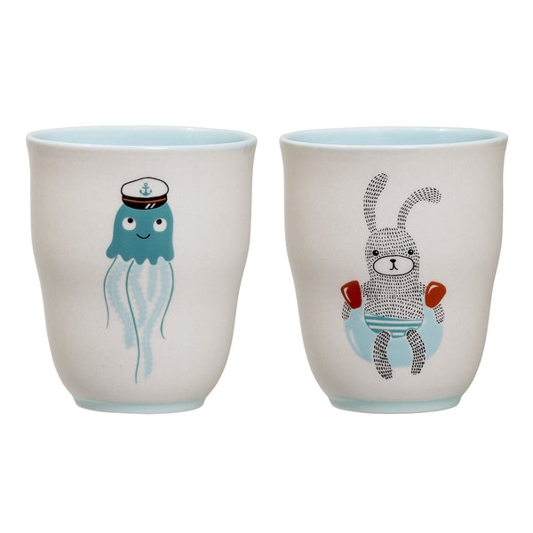 Benjamin Cups, Set of 2