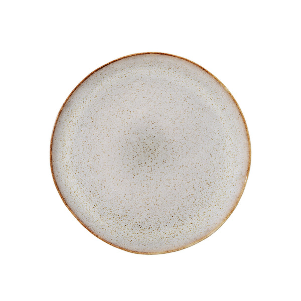 Handmade Sandrine Side Plate, Grey