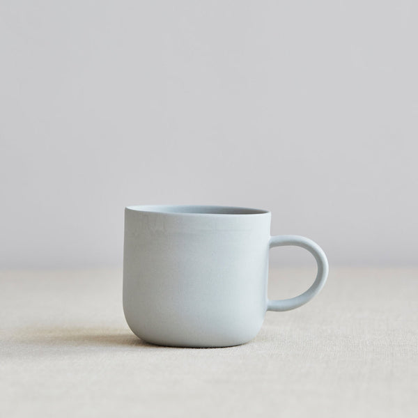Mr & Mrs Mug, Pale Grey
