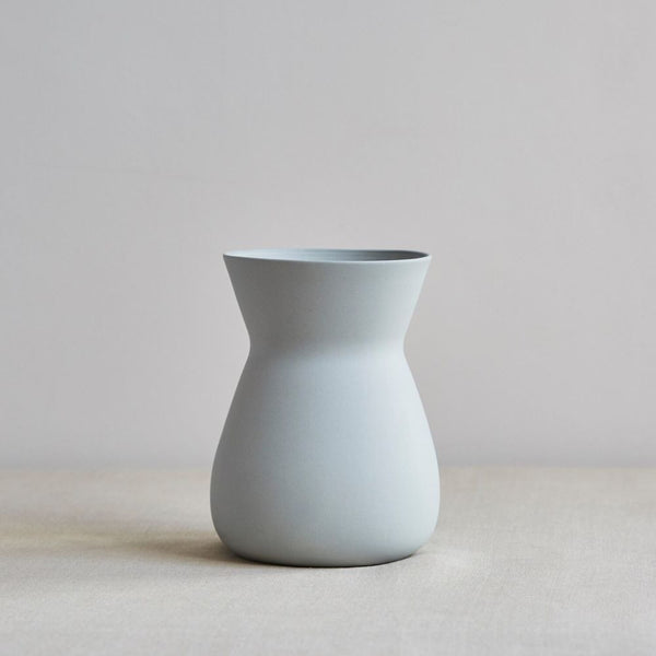 Handcrafted Betty Vase, Pale Grey