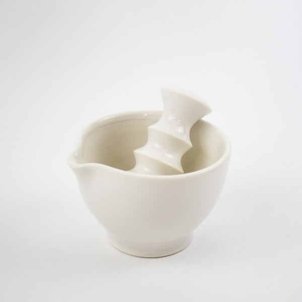 Pestle & Mortar, White