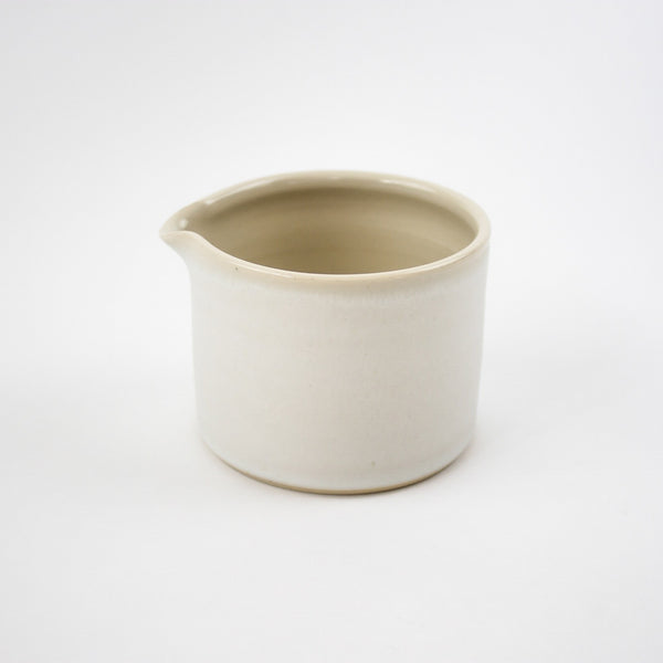 Hand Thrown Small Jug, Arctic White