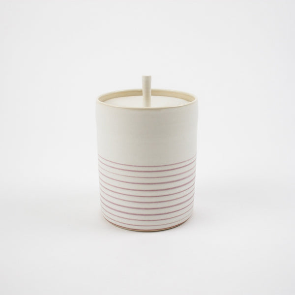 Storage Jar, Pink Strata - Tall