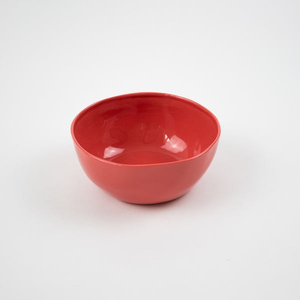 Dipping Bowl, Deep Coral