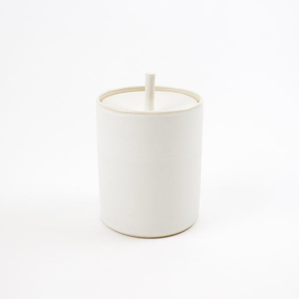 Storage Jar, Arctic White - Tall