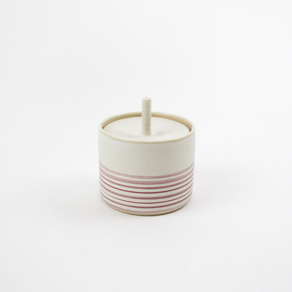 Storage Jar, Pink Strata - Small