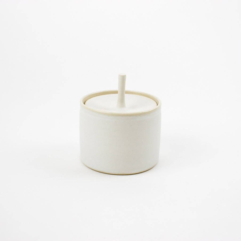 Storage Jar, Arctic White - Small