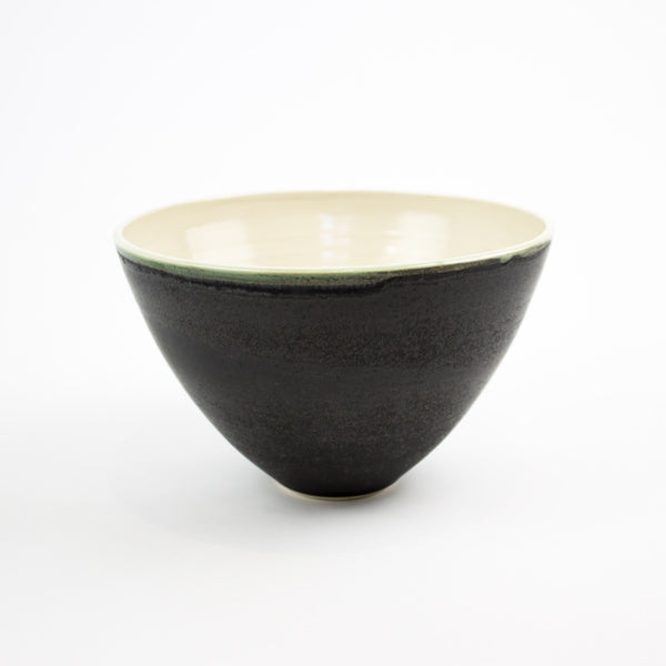 Hand Thrown Riva Bowl, Charcoal - Large