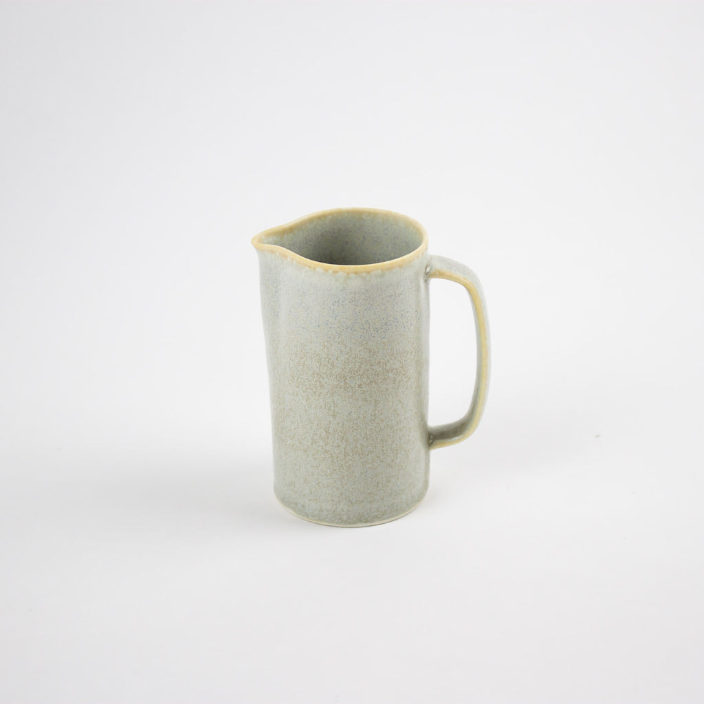 Hand Thrown Porcelain Jug, Cloud