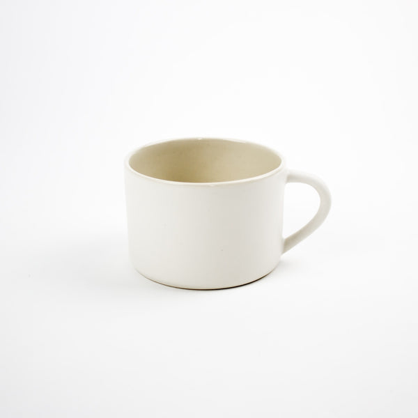 Hand Thrown Mug, Arctic White