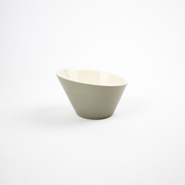 Asymmetric Bowl, Grey - Small