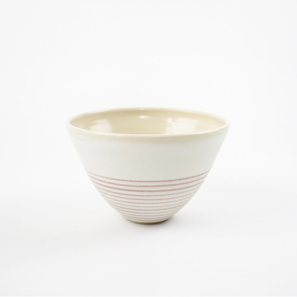 Riva Bowl, Pink Strata - Medium
