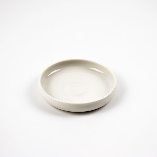 Oil & Vinegar Dish, White