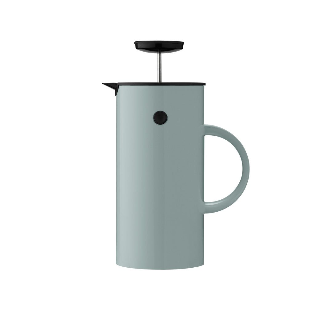 Stelton EM Press Tea Maker, Dusty Green
