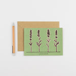 Load image into Gallery viewer, Recipe Notecard - Lavender
