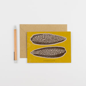 Recipe Notecard - Sweetcorn